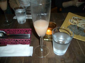 食前酒(日本酒カクテル)
