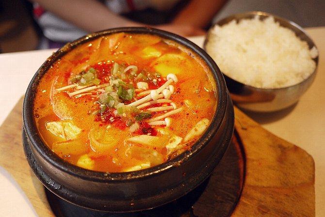 純豆腐チゲ鍋