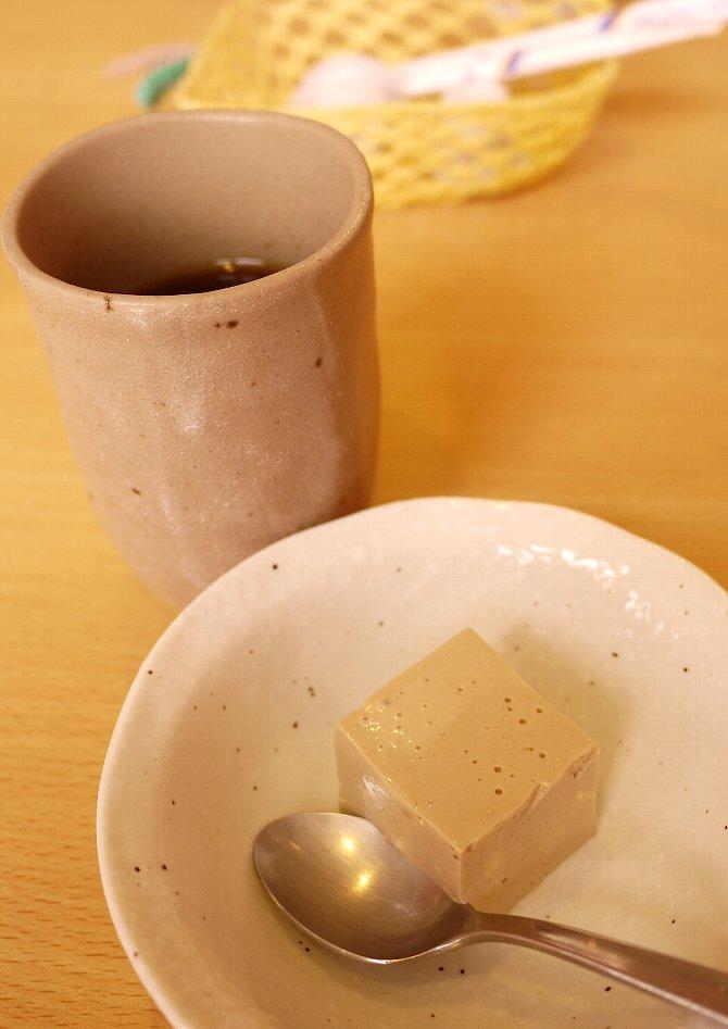 豆乳プリン&コーヒー