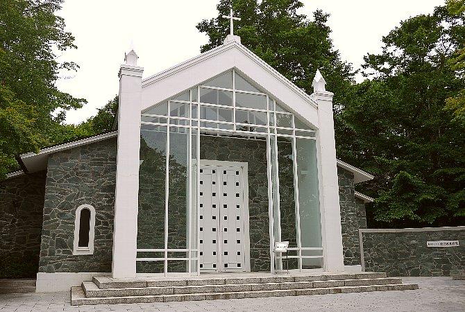 軽井沢礼拝堂