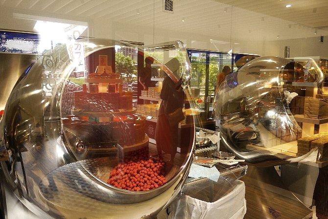 チョコボール製造