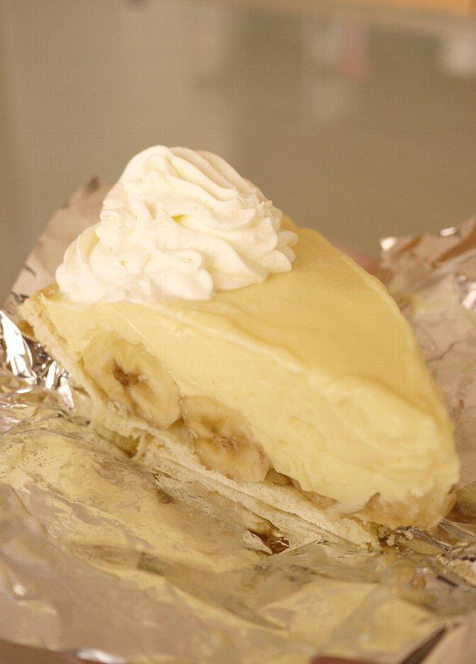 バナナクリームパイ
