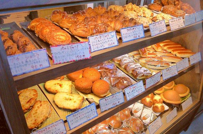 たくさんのパン!
