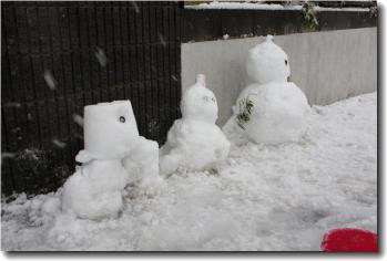 雪だるま2013