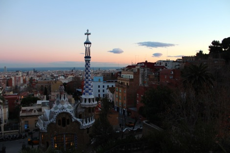 バルセロナぐれる公園