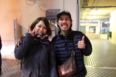 アユミとツーショット