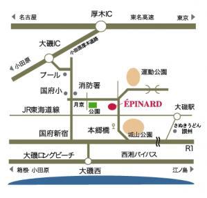エピナール地図