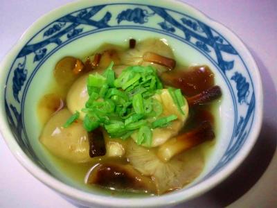 エノキとムキタケの合わせ煮