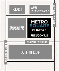 産経ビル地図side-access