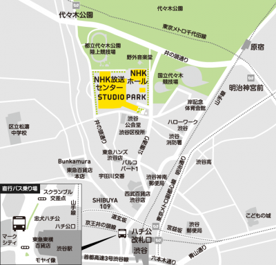 NHK地図 map