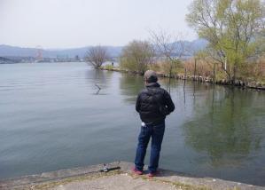 琵琶湖、釣り