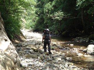 紅葉川渓谷散策