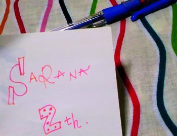 SARANA 2th ノベルティー2