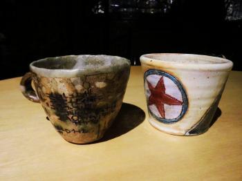 窯中カフェ チョイス器