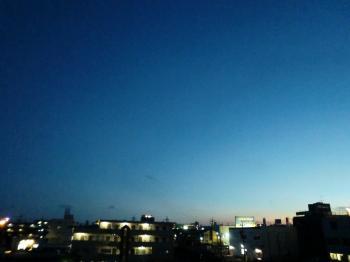 7.30の空
