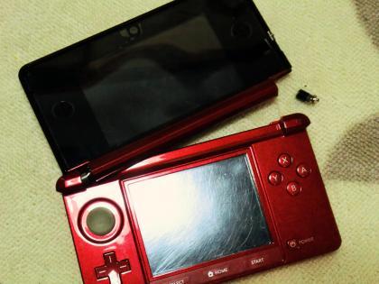 3DS 破損