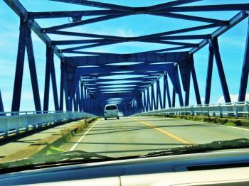 碧南 青い橋