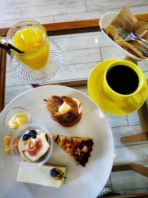 CAFE KINO 8.25 のこサンケーキ