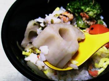 9月 青家 スープ飯6