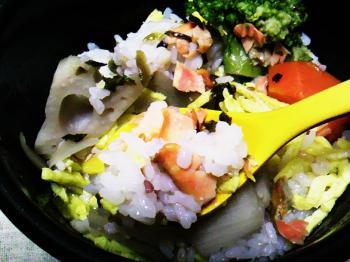 9月 青家 スープ飯5