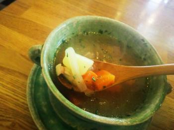 ベアランチ スープ2