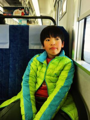 電車でオデカケ