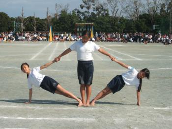 組み体操3