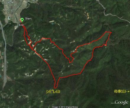 シビレ山1213
