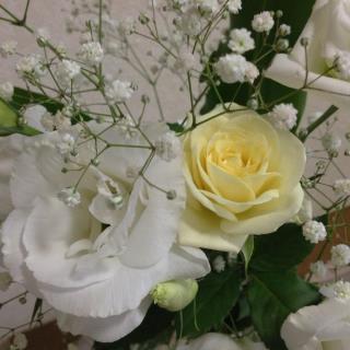 さゆりさん 花束