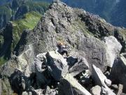 072 3峰登り山北