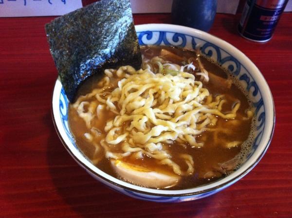 麺屋 十郎兵衛 煮干しのらーめん あっさり(二杯目) 麺