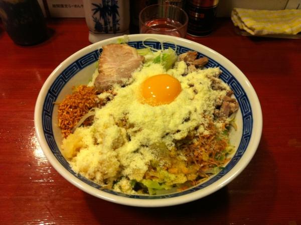 麺屋 十郎兵衛 ジャンクカレーチッ(大盛り)