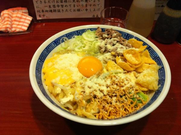 麺屋 十郎兵衛  ジャンクカレーチッ(大盛り) 二杯目