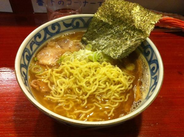 麺屋 十郎兵衛 中華そば 麺
