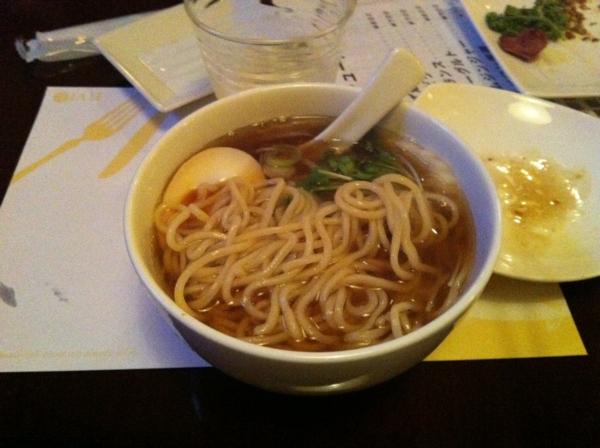 BAR JAH あっさり中華  麺