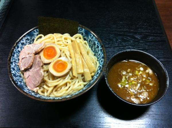つけ麺 一心 つけ麺特盛り 海老醤油味