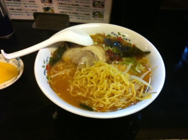 北海屋 特製北海らーめん味噌 麺
