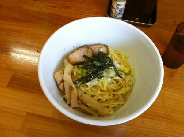 麺☆水樹 油そば(大盛り)