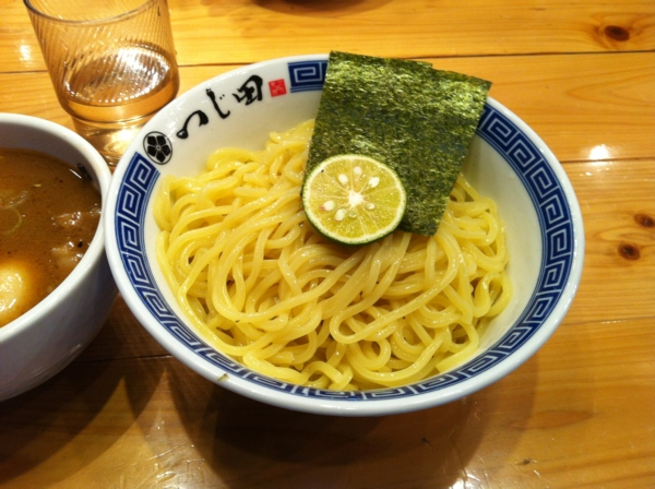 めん徳二代目つじ田 神田御茶ノ水店 二代目つけめん 麺