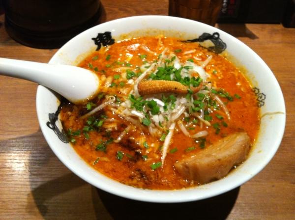 カラシビ味噌らー麺 鬼金棒 カラシビ味噌らー麺(カラ少なめシビ少なめ)