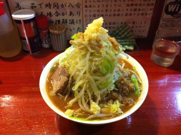 麺屋 十郎兵衛 ラーメン十郎(大盛り) 二杯目