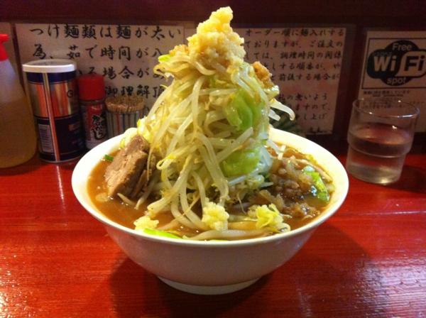 麺屋 十郎兵衛 ラーメン十郎(大盛り) 二杯目 別アングル