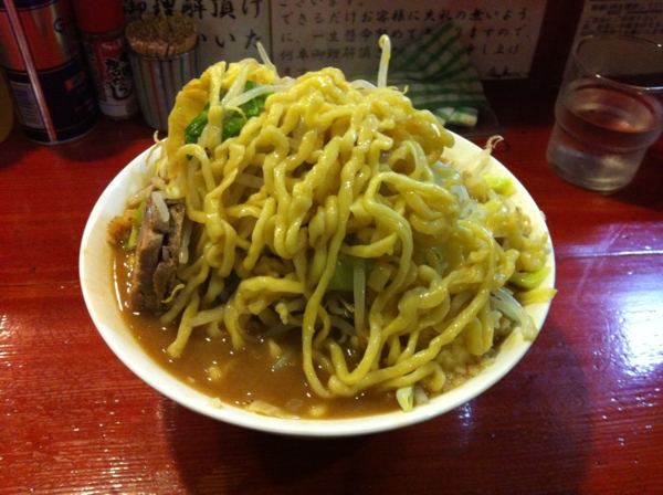 麺屋 十郎兵衛 ラーメン十郎(大盛り) 二杯目 麺
