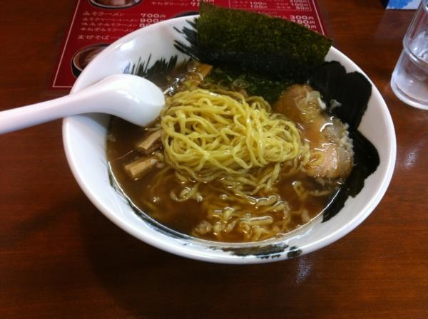拉麺 しな竹 しょうゆラーメン 麺