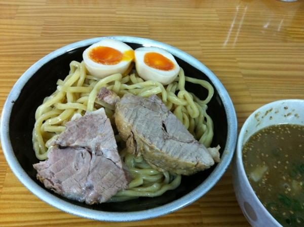 たいやき本舗藤家 仙台泉店 味卵M.A.つけめん 麺