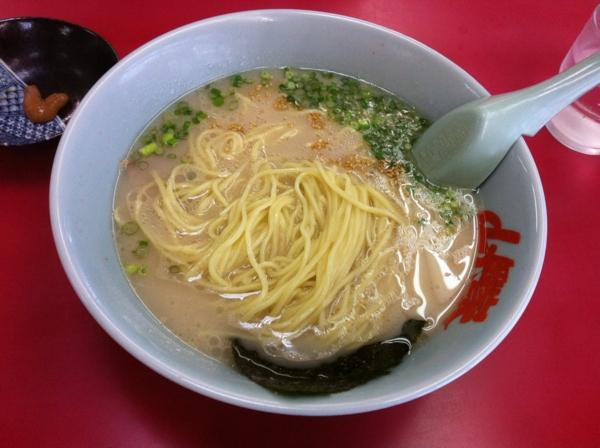 ラーメン山岡屋小山田間店 朝ラーメン 麺