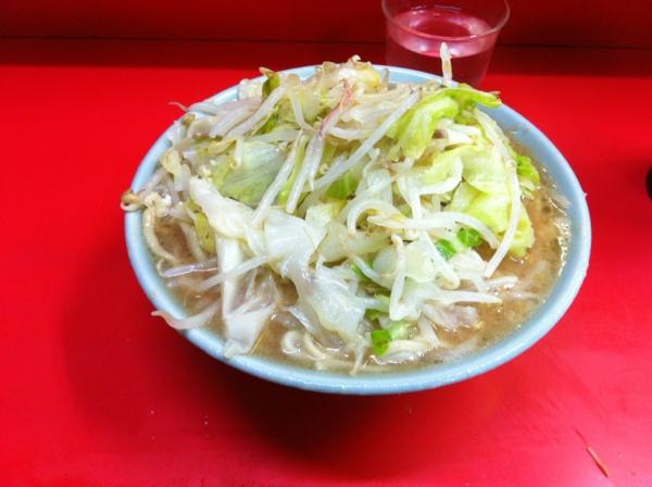 ラーメン二郎 三田本店 小ラーメン(ニンニクコール)