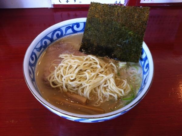 麺屋十郎兵衛 朝らーめん 麺