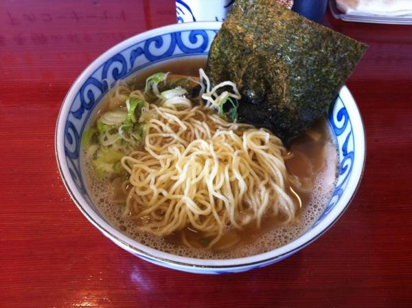麺屋十郎兵衛(大仙市) 朝中華そば 麺