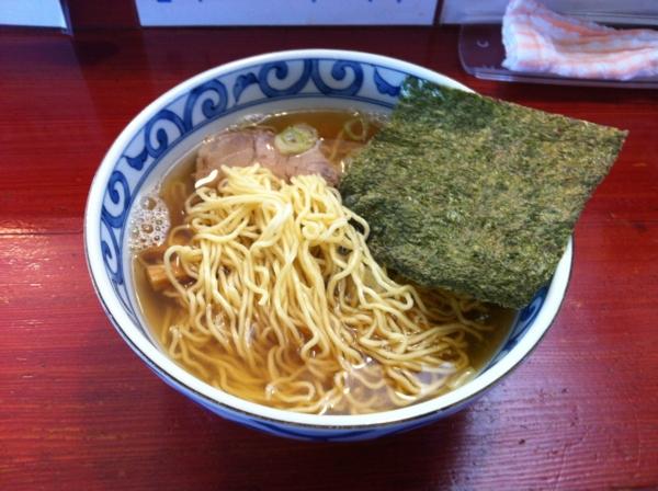 麺屋十郎兵衛 朝中華そば(二回目) 麺